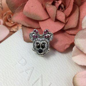 Pandora Minnie Mouse diamond charm